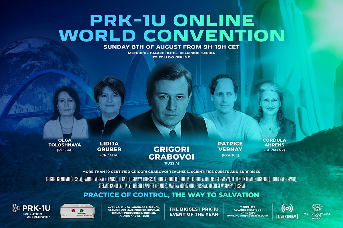 Rencontre exceptionnelle avec Grigori Grabovoï, le 08.08.2021